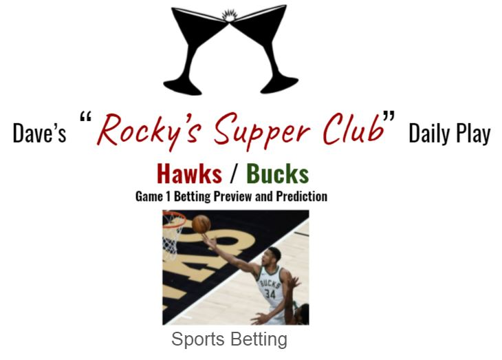 Hawks @ Bucks Game 1 Eastern Conf. Finals: Betting Preview & Prediction