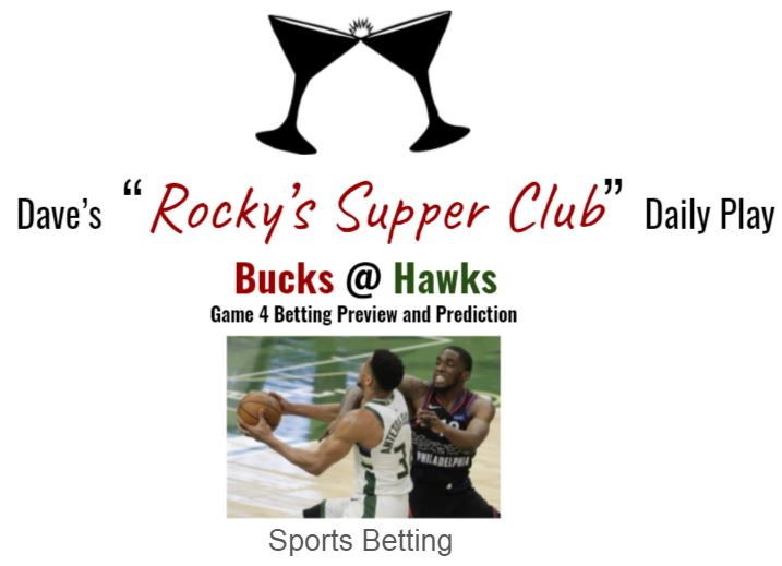 Bucks @ Hawks: Game 4 Eastern Conference Finals betting preview & prediction