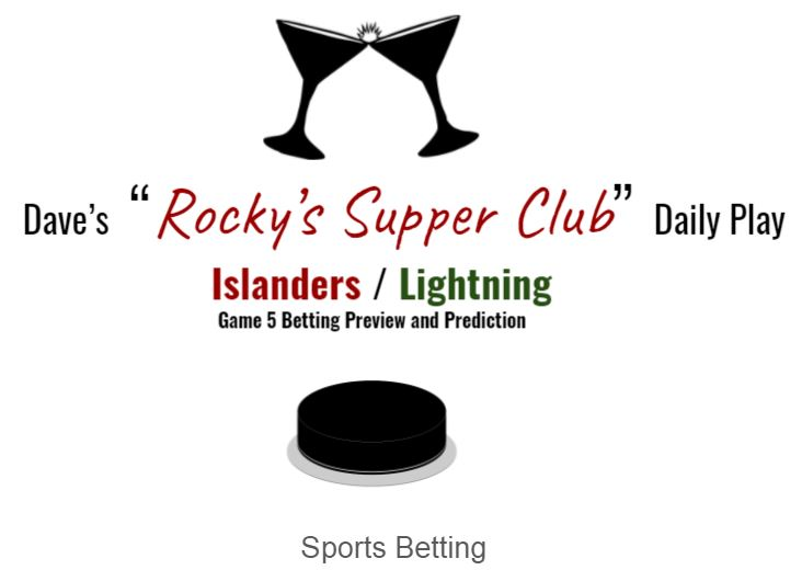 NHL Monday: Islanders @ Lightning