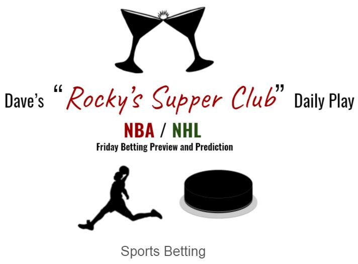 NBA & NHL Playoffs: Friday Betting Preview and Predictions