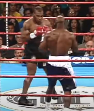 Tyson takes Holyfield's ear…boxing has never been the same