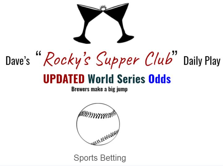 Updated: World Series odds