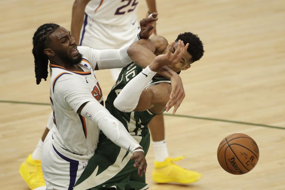 Suns can hack and whack Giannis, but know he'll keep coming
