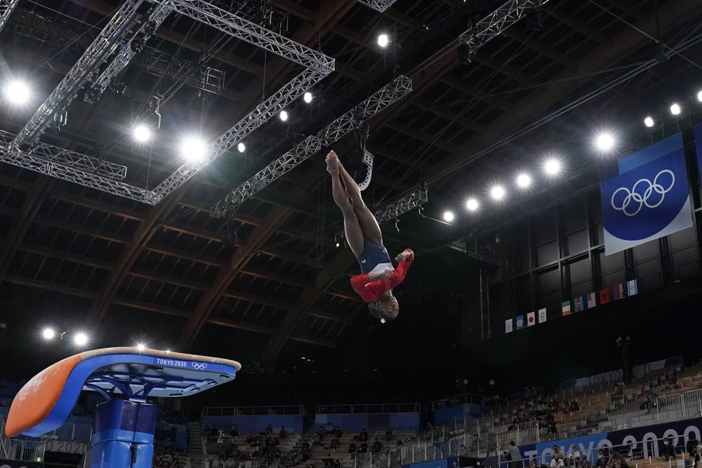 Biles — arguably greatest gymnast of all time — withdraws from gymnastics final to protect team, self