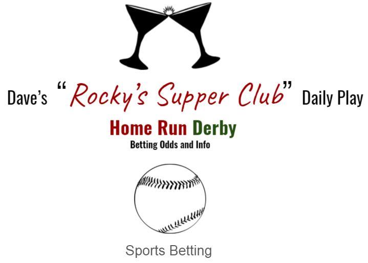 Home Run Derby: Betting Odds & Info