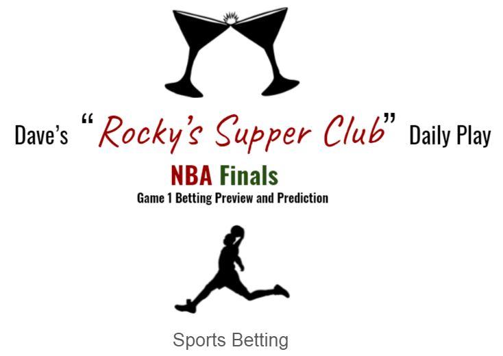 Bucks @ Suns: Game 1 NBA Finals
