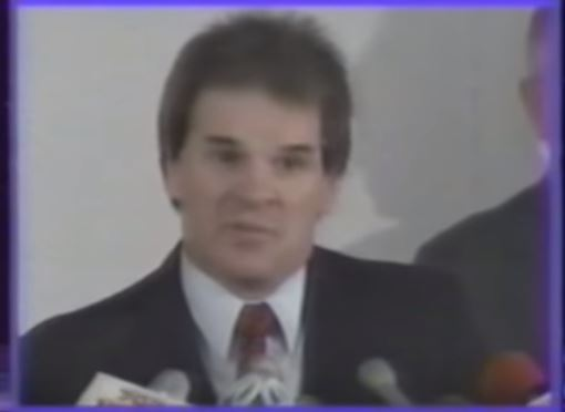 *Disgraced* Pete Rose: Banned from Baseball