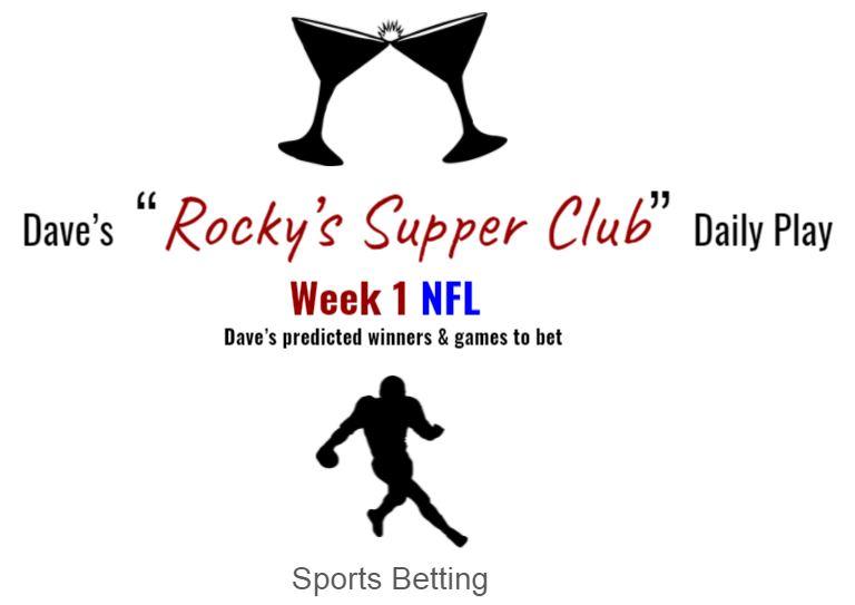 Week 1 NFL: Predicted winners & games to bet