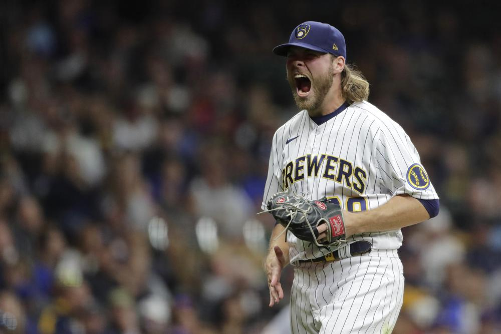 Brewers on brink of NL Central title after Burnes beats Mets
