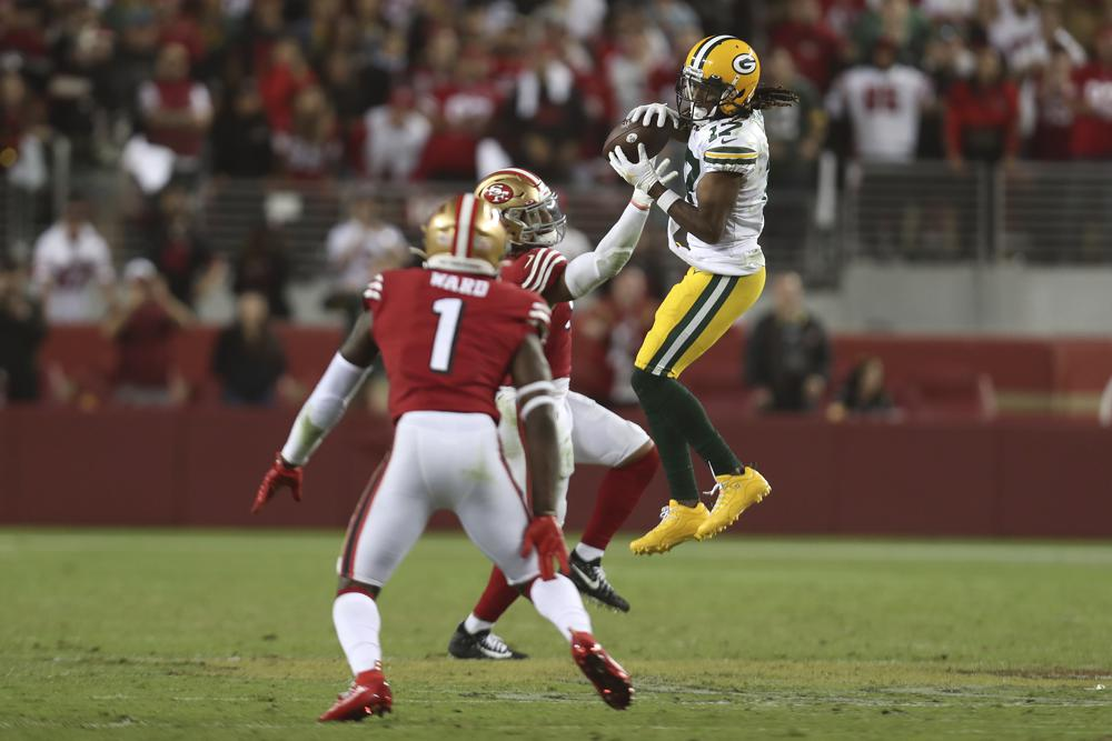 Packers' rally against 49ers reveals their reliance on Adams