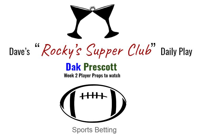 Dak Prescott: Week 2 player props to key in on