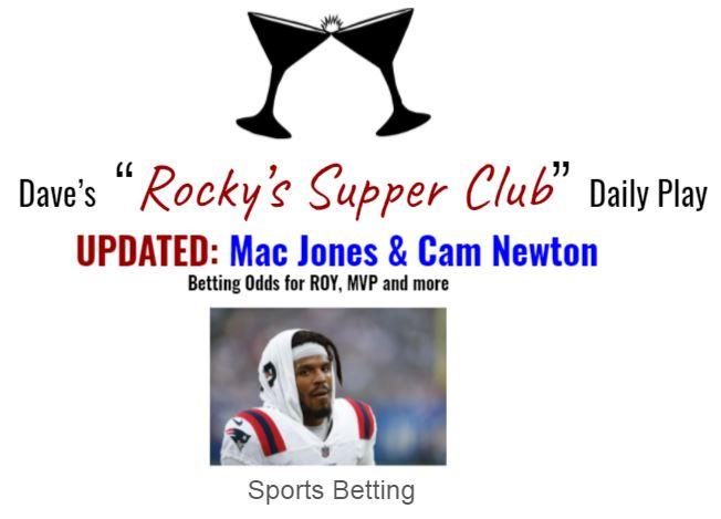 UPDATED: Betting odds for Cam Newton & Mac Jones props