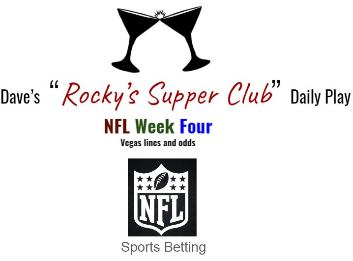 NFL Week Four: Lines and Odds