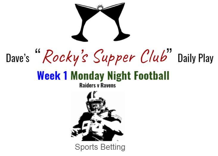 Raiders v Ravens (MNF Week 1)
