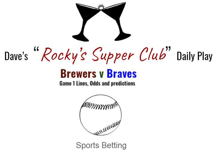 Brewers v Braves (Game 1)