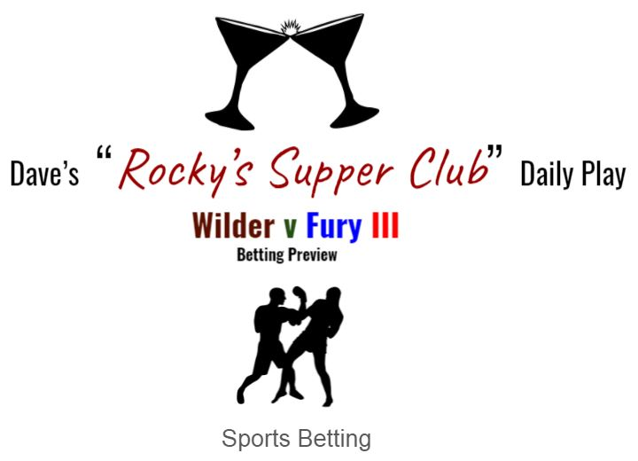 Wilder v Fury III (Betting Preview)